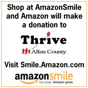 Support Thrive with AmazonSmile