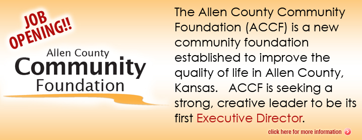 Allen County Community Foundation Seeks Executive Director